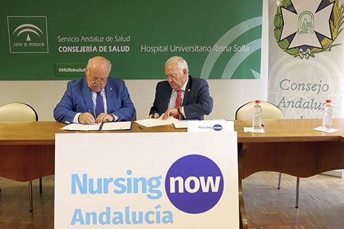 nursing now andalucia