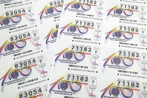 loteria centenario colegio enfermeria jaen