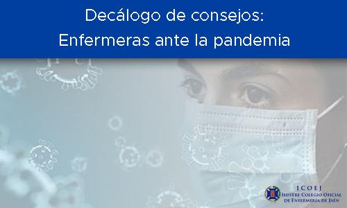 enfermeras ante la pandemia