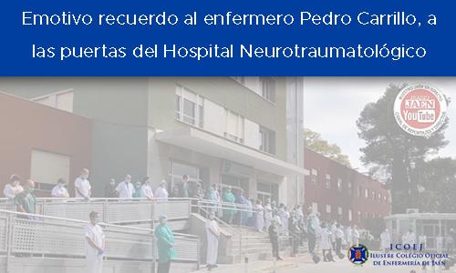 homenaje Pedro Carrillo Hospital