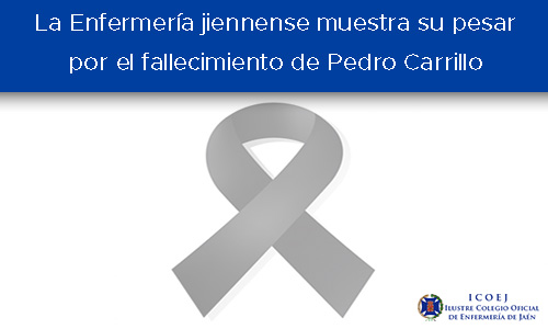 pesar por el fallecimiento de Pedro Carrillo