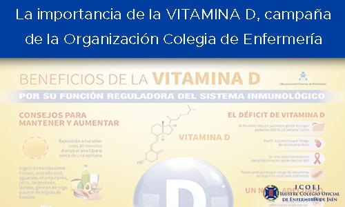 vitamina d enfermería