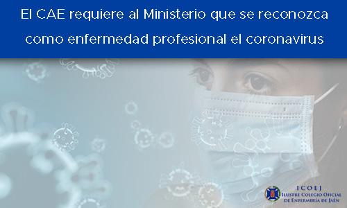 cae al ministerio enfermerdad pro