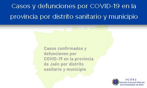 casos por municipio y distrito