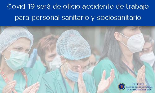 enfermedad covid accidente trabajo