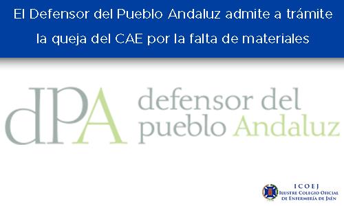 defensor del pueblo andaluz admite