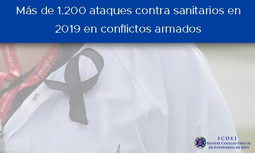 1200 ataques contra sanitarios