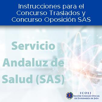 Instrucciones para el Concurso Traslados y Concurso Oposición SAS