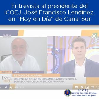 entrevista al presidente en canal sur
