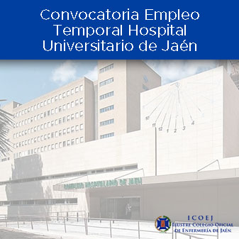empleo temporal hospital jaen