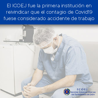 covid accidente laboral enfermeria