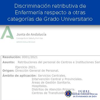 discriminacion retributiva enfermeria