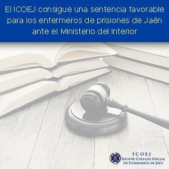 sentencia favorable enfermería ministerio interior