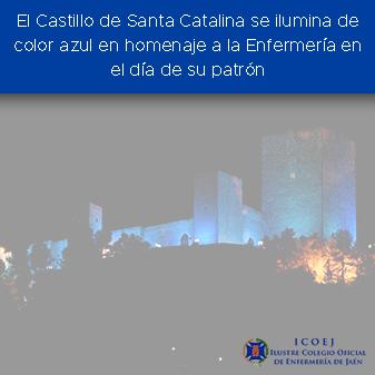 castillo iluminado san juan de dios