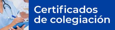 certificados colegiacion