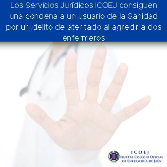 servicios juridicos condena agresion enfermero