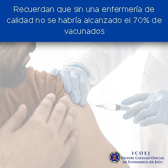 sin enfermería de calidad vacunación